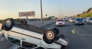 One injured in N1 rollover