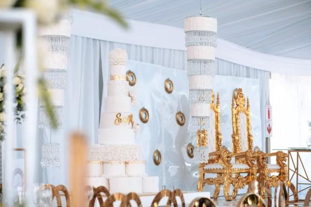 Somizi and Mohale white wedding