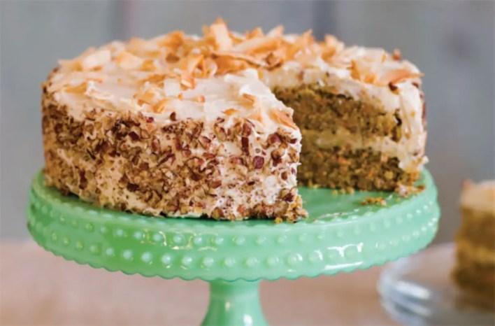 Sugar-free carrot cake