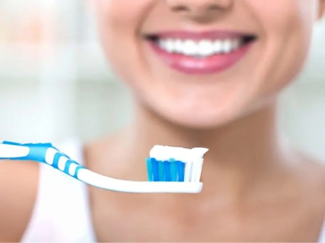 brushing your teeth 3 times a day