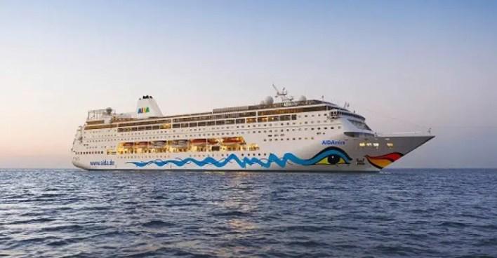 cruise liner MV AidAmira