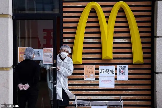 China McDonald's apologises