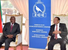 President Cyril Ramaphosa and ZCC