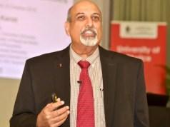 Professor Salim Abdool Karim