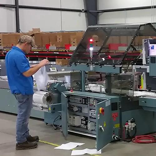 Shrink Wrap Machine Operator