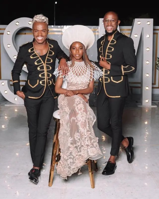 Somizi and his daughter