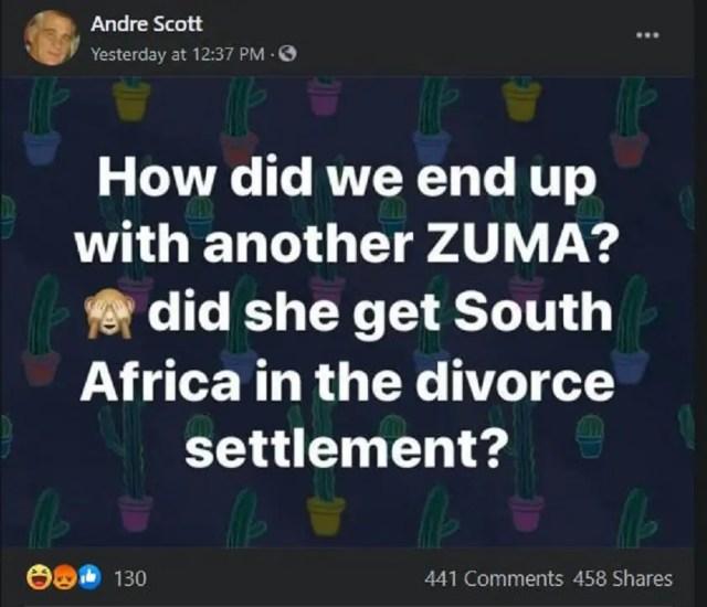 Andre Scott post