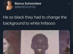 Bianca Schoombee bad tweet 3