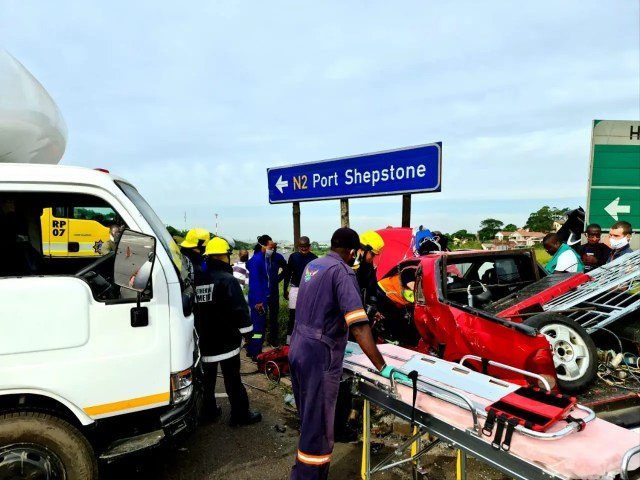 Five injured