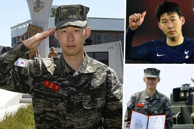 Heung Min Son Military