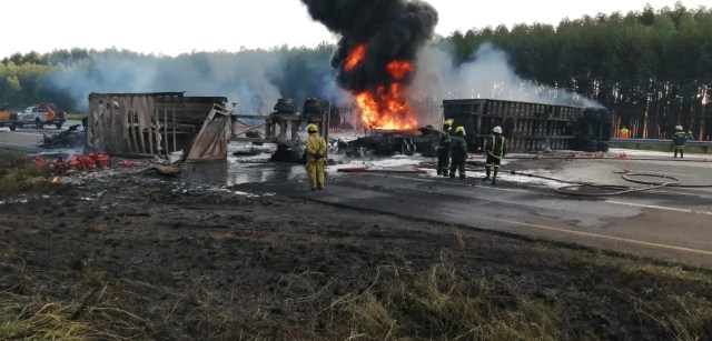Two burnt to death in tanker fire