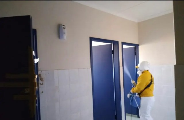 deep cleaning at schools
