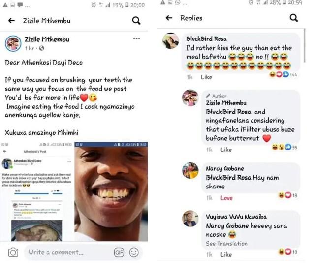 Zizile Mthembu messages
