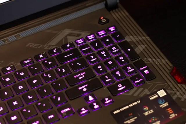ASUS rog gaming laptop ram