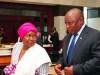 Cyril Ramaphosa and Nkosazana Dlamini Zuma