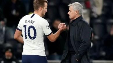 Kane and Mourinho
