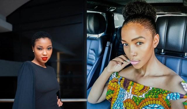 Lebo Phasha and Nhlanhla Nciza