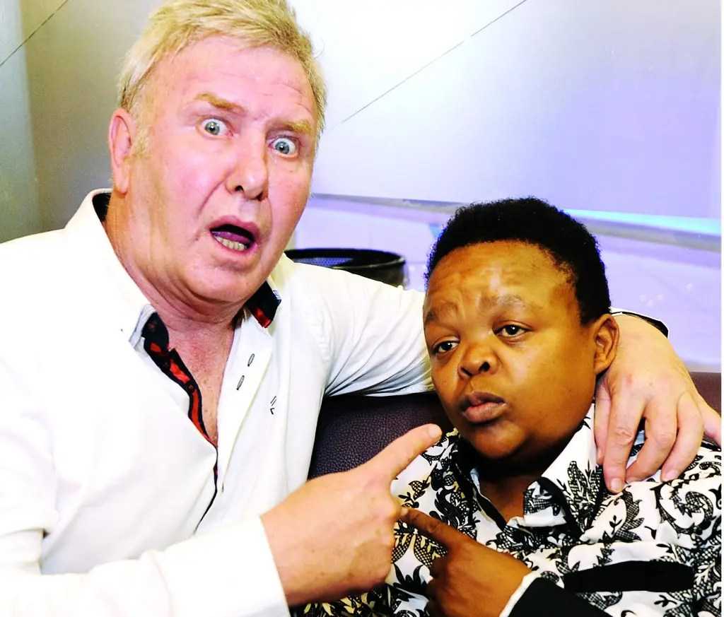 Leon Schuster and Alfred