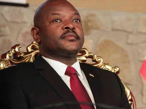 President of Burundi dies at 55