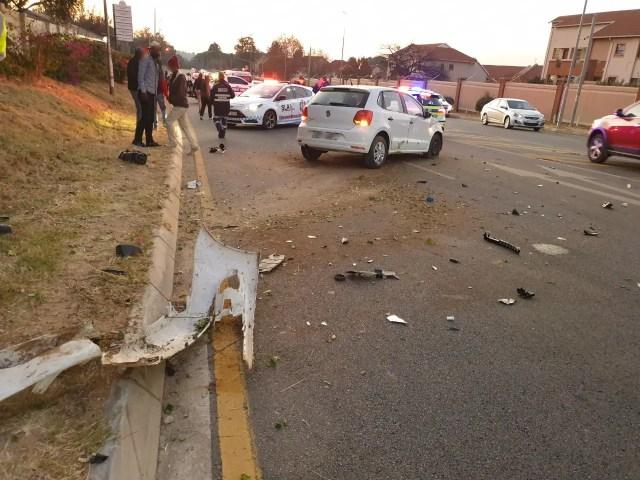 Pedestrian left fighting for her life after being struck down on sidewalk