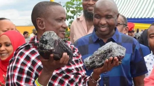 Tanzanian miner