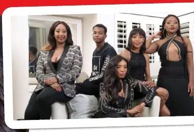 Themba Ndaba family