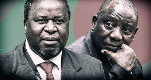 Tito Mboweni and Cyril Ramaphosa
