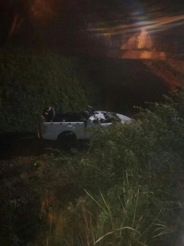 Two injured after rollover