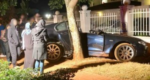 Two seriously injured after car slams into tree