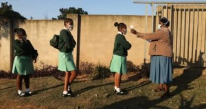 pupils going to school
