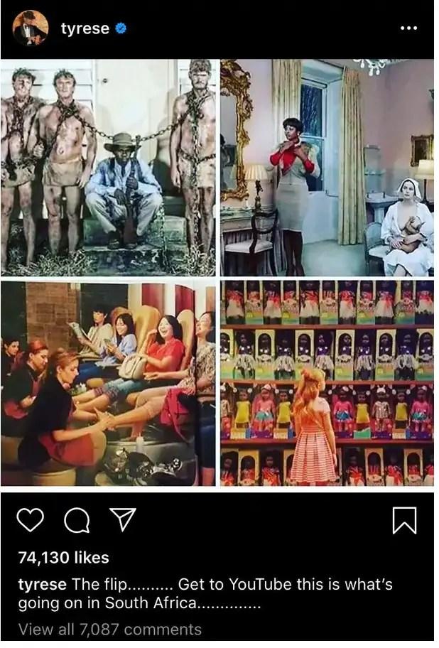 tyrese Instagram