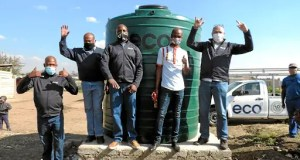 water tanks donated