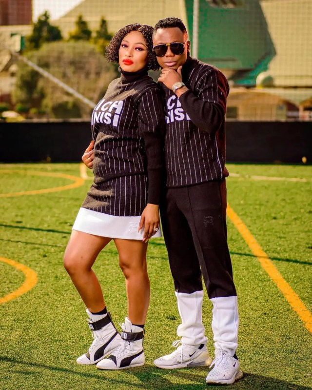 DJ Tira and Gugu Khathi