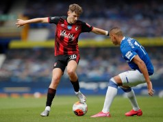 Everton 1 -3 Bournemouth
