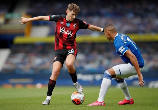 Everton 1 -3 Bournemouth