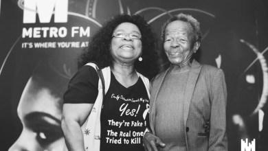 Lillian Dube and Mary Twala