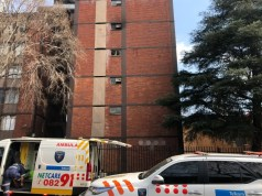 Man falls to death trying to avoid fire