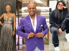 Naked DJ, Mpho Letsholonyane and Lira