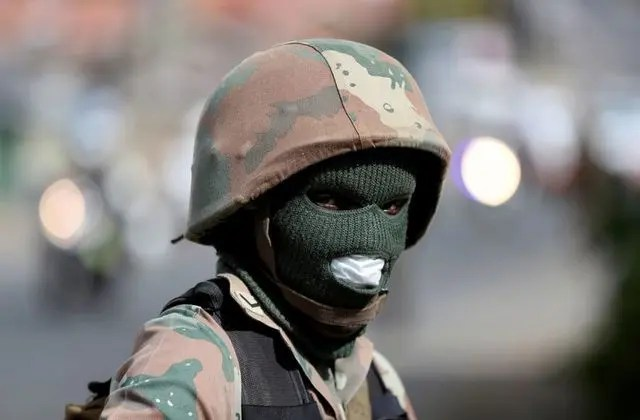 South African National Defence Force (SANDF) member
