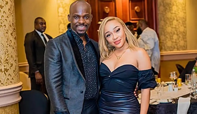 Thando Thabethe and Jaji Abolore
