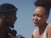 Thando Thabethe and Lungile Radu