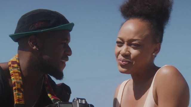 Thando Thabethe and Lungile Radu