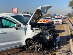 Three dead, one critical in N14 crash