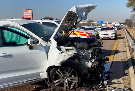 Three dead, one critical in N14 crash