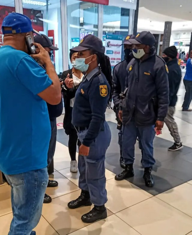 Vodacom store in Tygervalley robbed