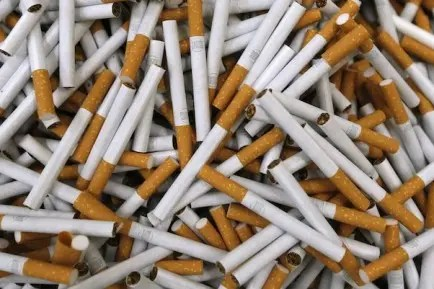 illicit cigarettes