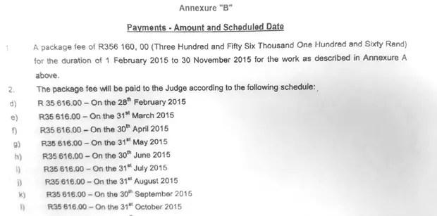 Idols SA Judges Salaries