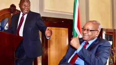 Jacob Zuma and Ramaphosa