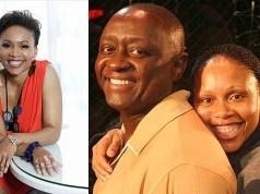 Leleti Khumalo and Mbongeni Ngema