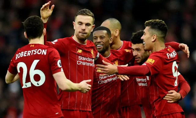 Highest-paid players at Liverpool FC